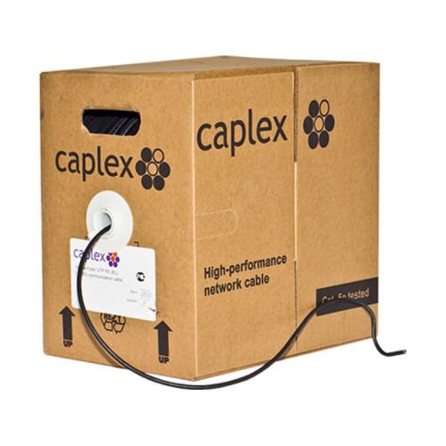 Поволжская Кабельная Компания Caplex U/UTP4 5е категории 24 AWG CU OUTDOOR (305 метров)