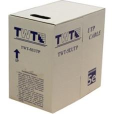 Кабель витая пара UTP 5e кат. 4 пары TWT TWT-5e UTP
