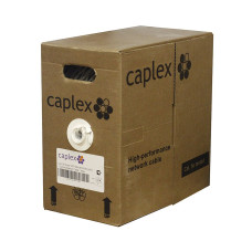 Кабель витая пара CAPLEX UTP 4x2x0, 5 cat.5e, медь, PVC (305 м)
