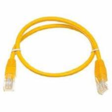 Патч-корд UTP, 2 m, литой, RJ45, Cat.6, Atcom желтый