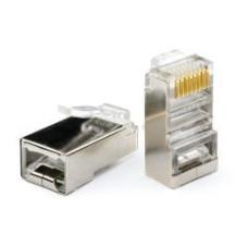 Коннектор RJ45 FTP (100 шт.) экран