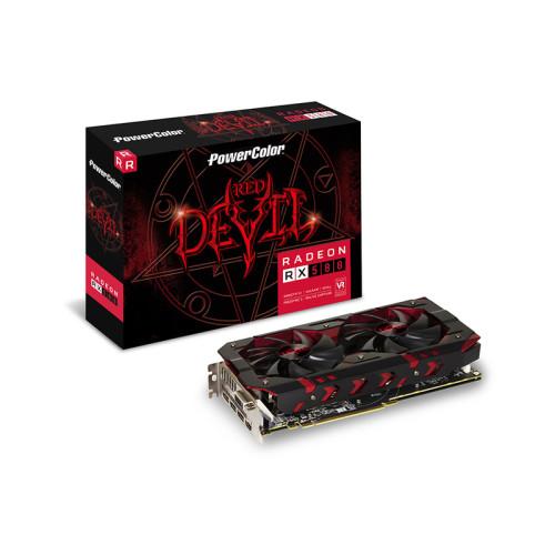 Видеокарта POWERCOLOR AMD Radeon RX 580 8GB Red Devil
