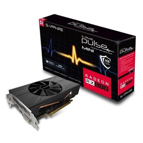 Видеокарта SAPPHIRE AMD Radeon RX 570 PULSE RX 570 4G ITX