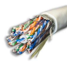 SUPRLAN Median FTP 5e 25x2xAWG24 Cu PVC In. 305м