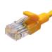 Патч-корд SUPRLAN U/UTP Cat.5e 4x2 26AWG (7x0.16mm) Cu PVC желтый 5м
