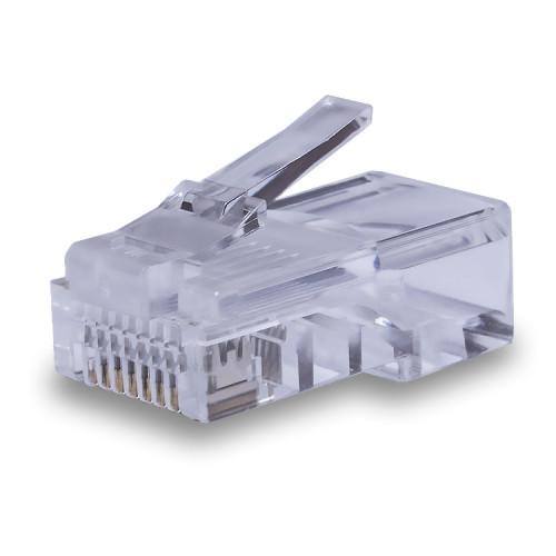 Коннекторы 8P8C U/UTP Cat.5e (RJ-45) (100 pcs)